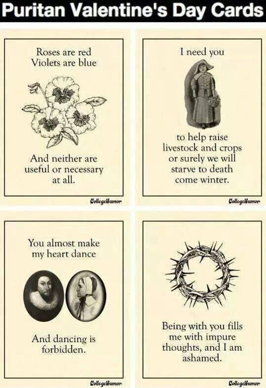 Puritan Valentines