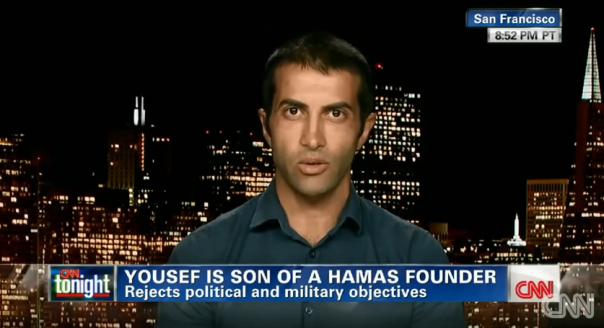 Mosab Hassan Yousef, interviewed on July 24th on CNN.
