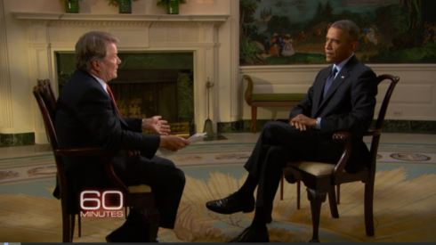 "Obama tells ""60 Minutes"" that US intelligence underestimated the ISIS threat. (source: CBS News)"