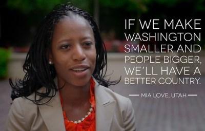 Republican Congresswoman Mia Love