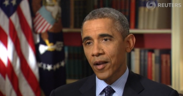 President Obama gives exclusive interview to Reuters on his Iran policy. (photo credit: Reuters)