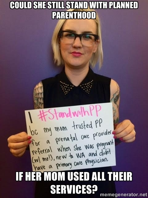 How does she stand with planned parenthood