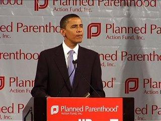 Barack Obama and Planned Parenthood