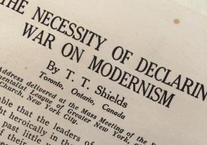 War on Modernism