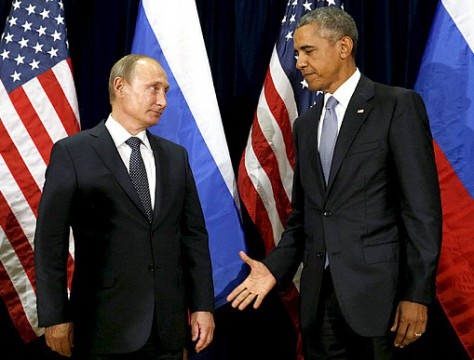 Vladimir Putin and the Clown of the United States