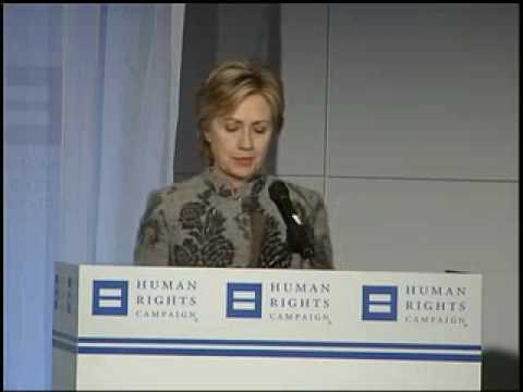 Hillary Clinton and the Human Rights Campaign