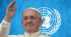 Pope UN