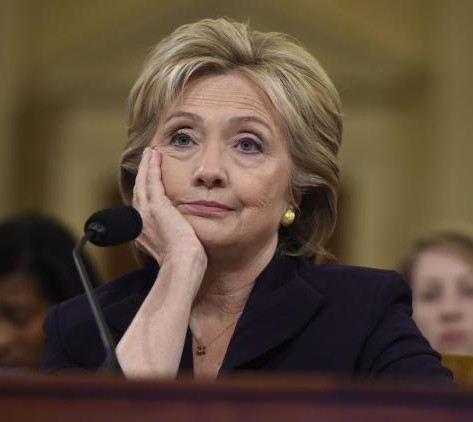 Hillary Clinton look bored about the deaths of 4 Americans who asked for her help