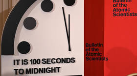 Doomsday Clock poised at 100 seconds to midnight, scientists cite nuclear arms race & 'online lying' as threats