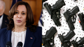 Nobody's 'coming after your guns,' says Kamala Harris, who campaigned on coming after guns