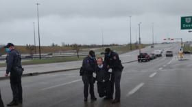 Canadian pastor who kicked 'Gestapo cops' out of his church arrested for organizing an 'illegal gathering'