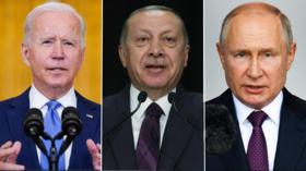 Biden not doing enough to fight terrorists, says Turkey's Erdogan, vows closer ties with Russia & Putin despite NATO obligations